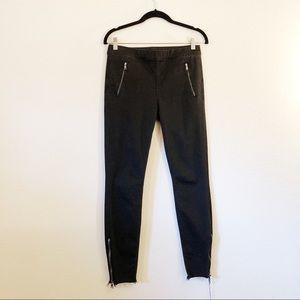 Mother Black denim leggings